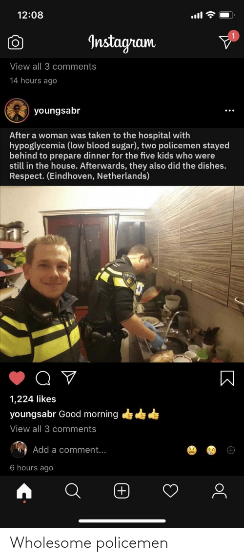Wholesome: Wholesome policemen