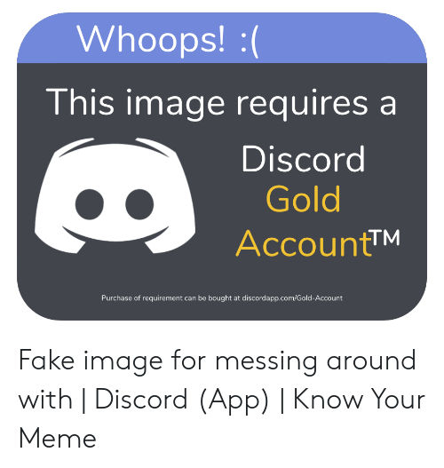 🐣 25+ Best Memes About Discord Gold   Discord Gold Memes