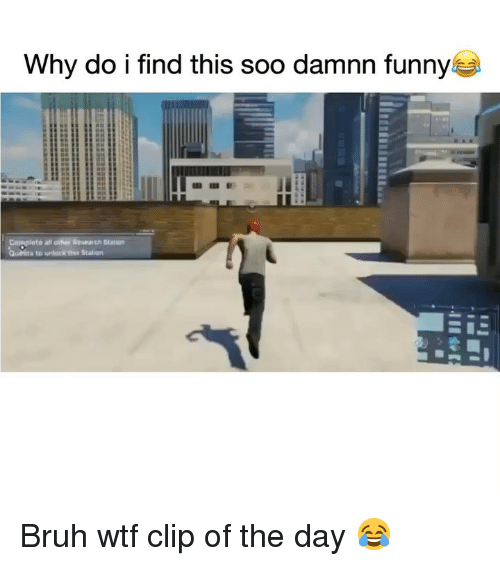 Bruh, Funny, and Wtf: Why do i find this soo damnn funny Bruh wtf clip of the day 😂