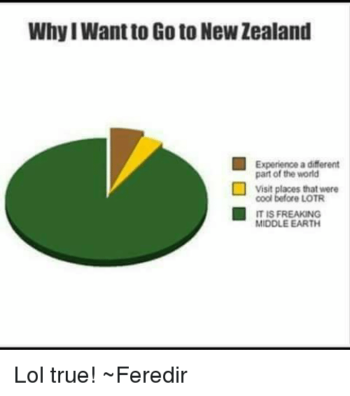 middle earth: Why I Want to Go to New Zealand  Experience a different  part of the world  s that were  cool before LOTR  IT IS FREAKING  MIDDLE EARTH Lol true! ~Feredir