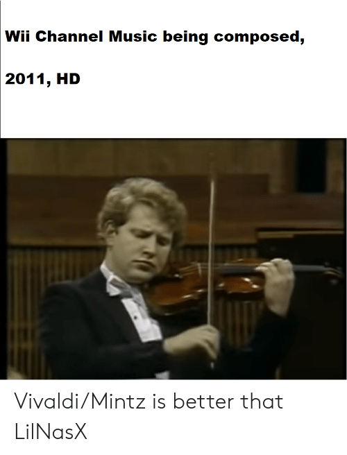 Wii Channel Music Being Composed 2011 HD VivaldiMintz Is