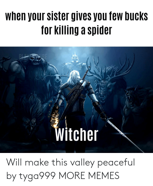 will: Will make this valley peaceful by tyga999 MORE MEMES