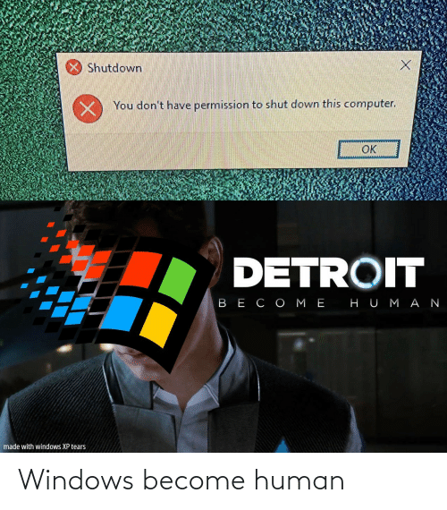 Become: Windows become human