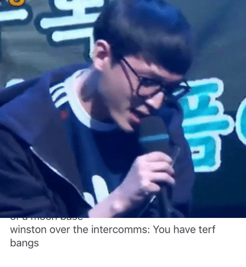 You, Bangs, and Terf: winston over the intercomms: You have terf  bangs