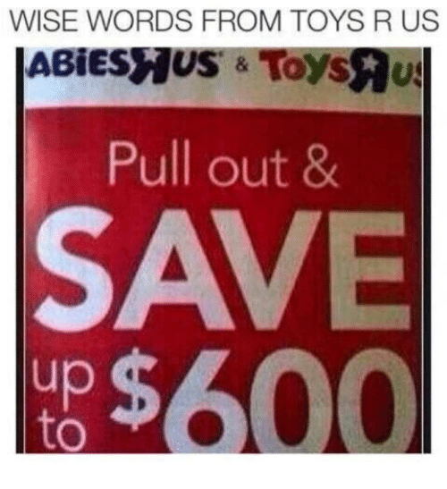 Toys R Us: WISE WORDS FROM TOYS R US  Pull out 8  SAVE  up  to