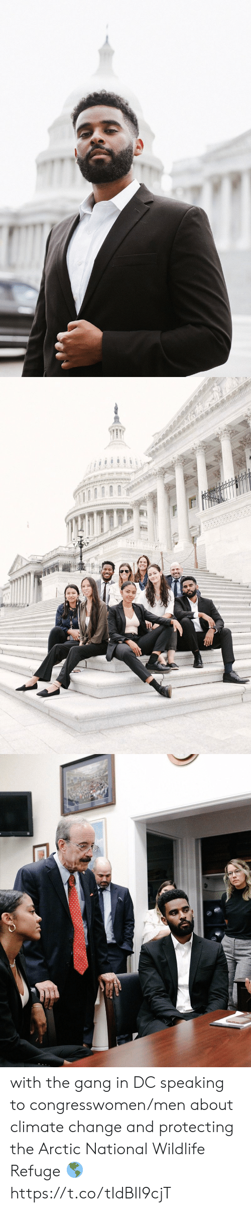 refuge: with the gang in DC speaking to congresswomen/men about climate change and protecting the Arctic National Wildlife Refuge 🌎 https://t.co/tIdBIl9cjT