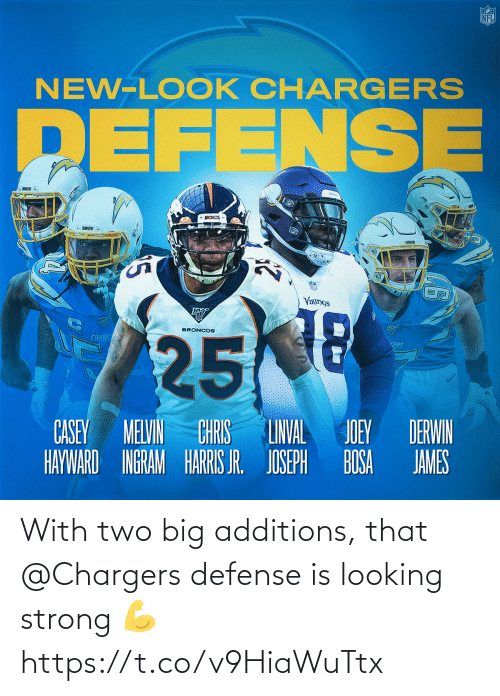 defense: With two big additions, that @Chargers defense is looking strong 💪 https://t.co/v9HiaWuTtx