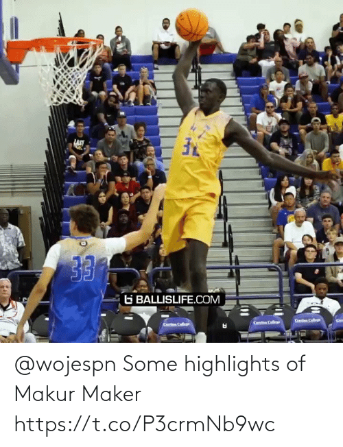 maker: @wojespn Some highlights of Makur Maker  https://t.co/P3crmNb9wc