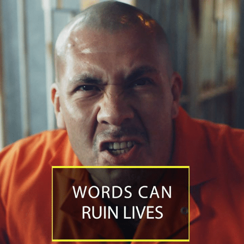 Memes, 🤖, and Can: WORDS CAN  RUIN LIVES