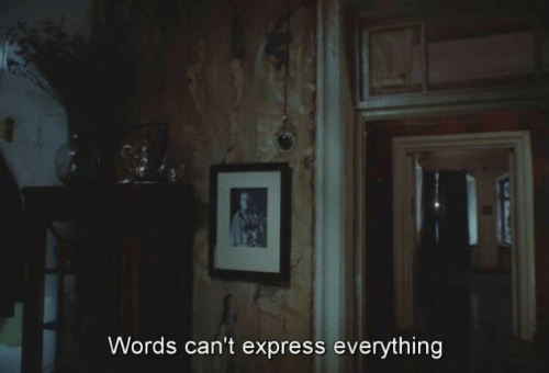 Express: Words can't express everything