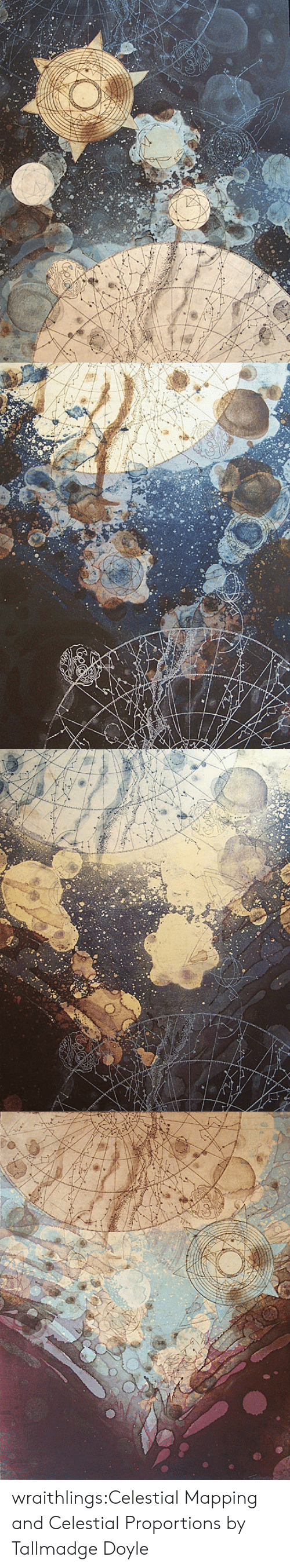Tumblr, Work, and Blog: wraithlings:Celestial Mapping and Celestial Proportions by Tallmadge Doyle