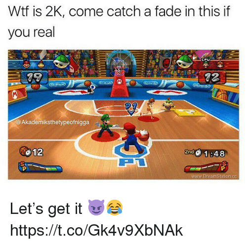 Wtf, You, and Real: Wtf is 2K, come catch a fade in this if  you real  @Akademiksthetypeofnigga  012  慵  znd Let's get it 😈😂 https://t.co/Gk4v9XbNAk