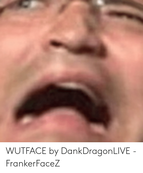 WUTFACE by DankDragonLIVE - FrankerFaceZ | Wutface Meme on
