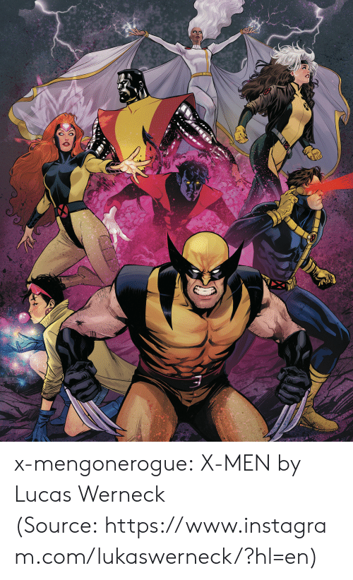 Instagram, Tumblr, and X-Men: x-mengonerogue:  X-MEN by Lucas Werneck (Source: https://www.instagram.com/lukaswerneck/?hl=en)