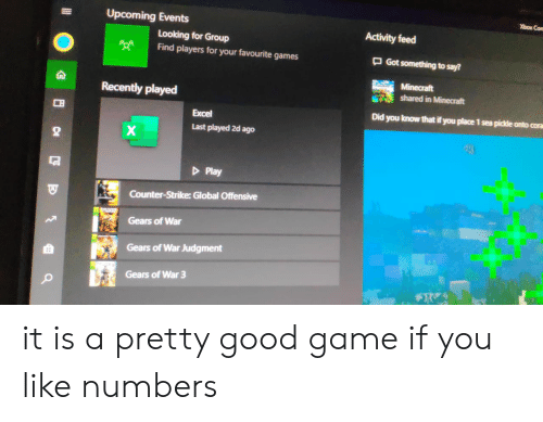 Xbox Con Upcoming Events Activity Feed Looking for Group