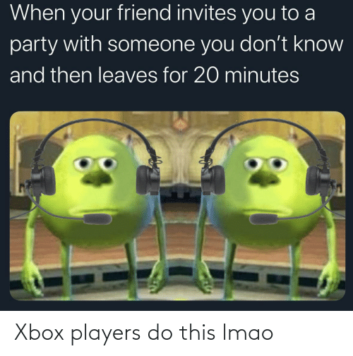 players: Xbox players do this lmao