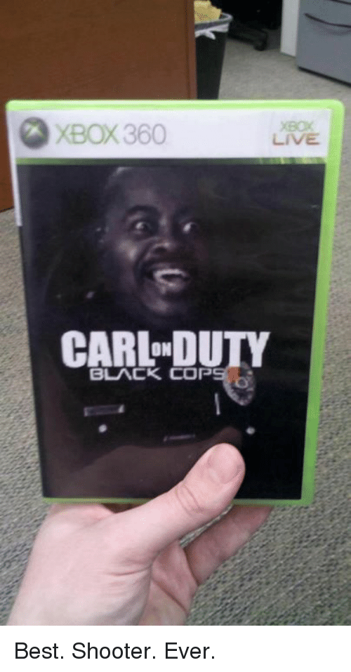 Black Cops: XBOX360  ON  BLACK COP Best. Shooter. Ever.
