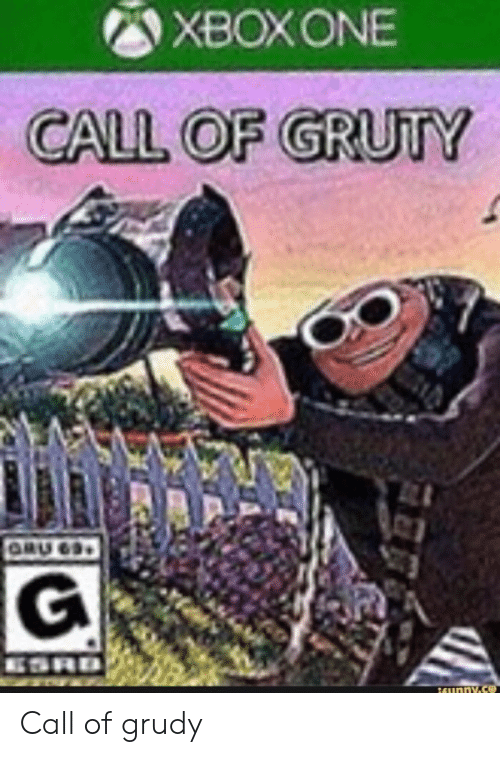Gru: XBOXONE  CALL OF GRUTY  GRU 63  ESRD  16unny.s Call of grudy