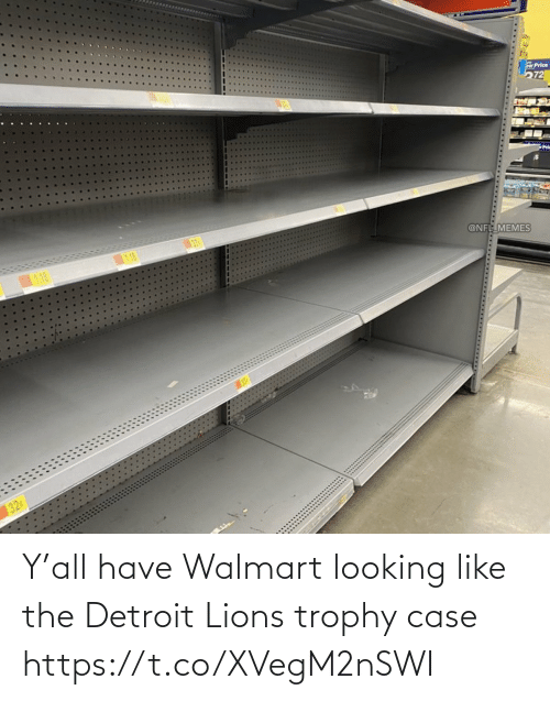 Lions: Y'all have Walmart looking like the Detroit Lions trophy case https://t.co/XVegM2nSWI