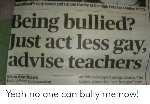 yeah: Yeah no one can bully me now!