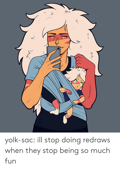 Tumblr, Blog, and Image: yolk-sac:  ill stop doing redraws when they stop being so much fun