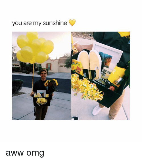 Aww, Omg, and Girl Memes: you are my sunshine aww omg