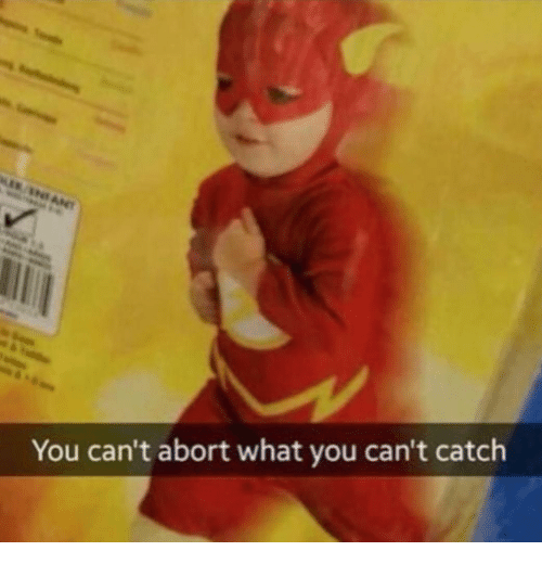 Abort: You can't abort what you can't catch