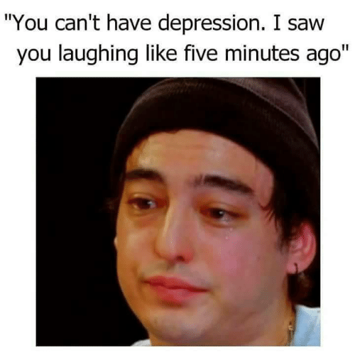 """Saw, Depression, and You: """"You can't have depression. I saw  you laughing like five minutes ago"""""""