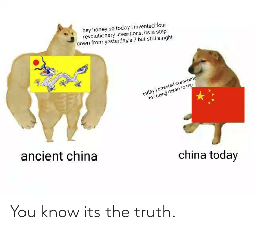 Its The: You know its the truth.