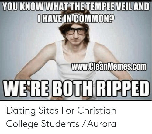 dating at a christian college
