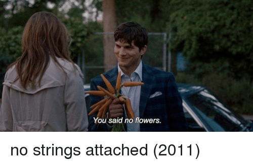 Memes, Flowers, and 🤖: You said no flowers no strings attached (2011)