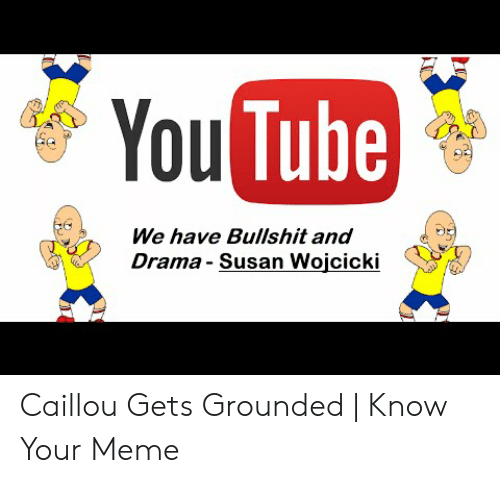 🐣 25+ Best Memes About Caillou Gets Grounded Meme | Caillou