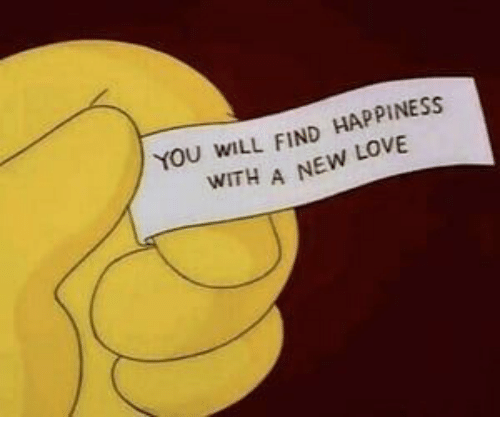 New Love: YOU WILL FIND HAPPINESS  WITH A NEW LOVE