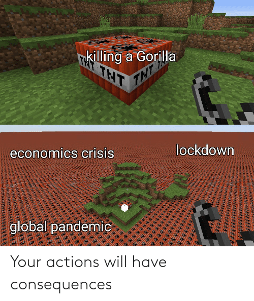 actions: Your actions will have consequences