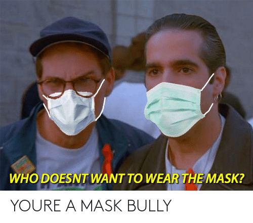 Youre A: YOURE A MASK BULLY
