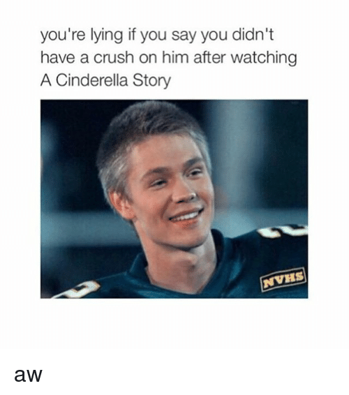 A Cinderella Story: you're lying if you say you didn't  have a crush on him after watching  A Cinderella Story  NVHS aw