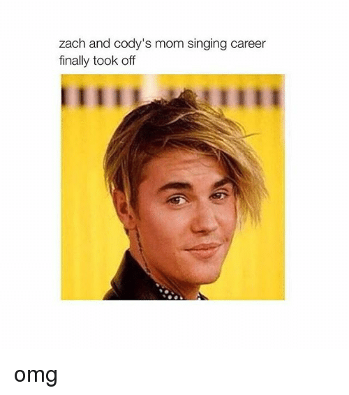 zach and: zach and cody's mom singing career  finally took off omg