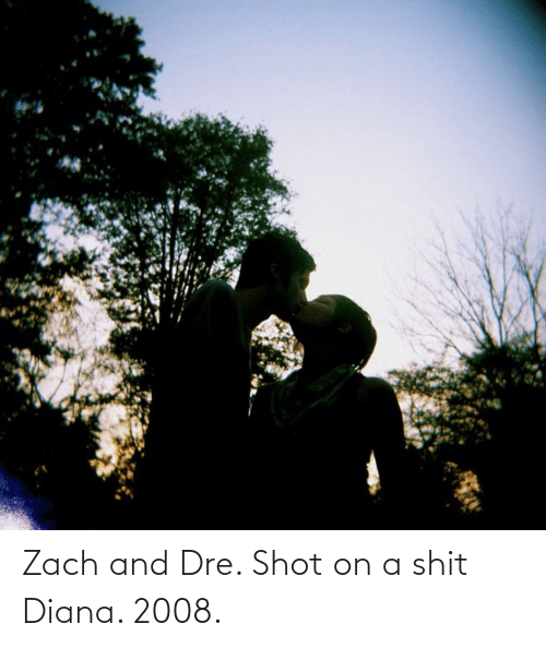 zach and: Zach and Dre. Shot on a shit Diana. 2008.