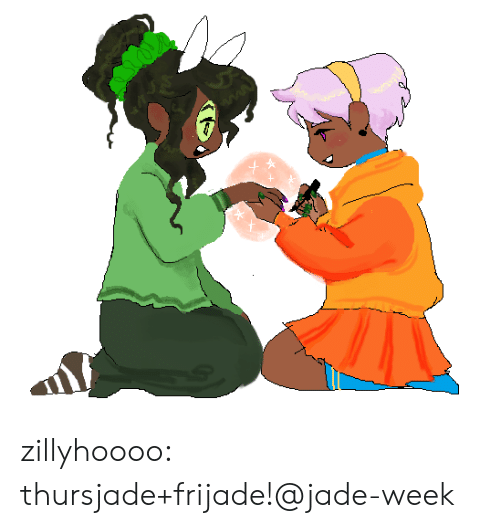Target, Tumblr, and Blog: zillyhoooo:  thursjade+frijade!@jade-week