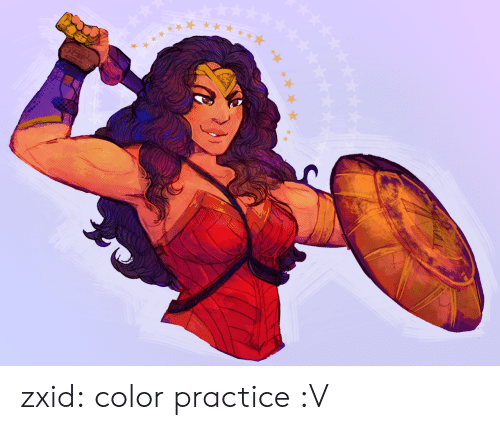 Tumblr, Blog, and Com: zxid:  color practice :V
